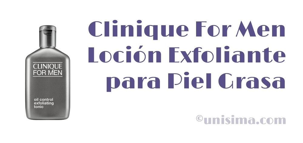 clinique for men tonico facial hombre