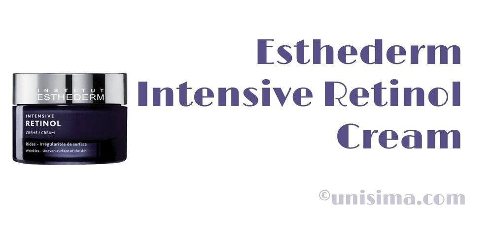 esthederm crema retinol