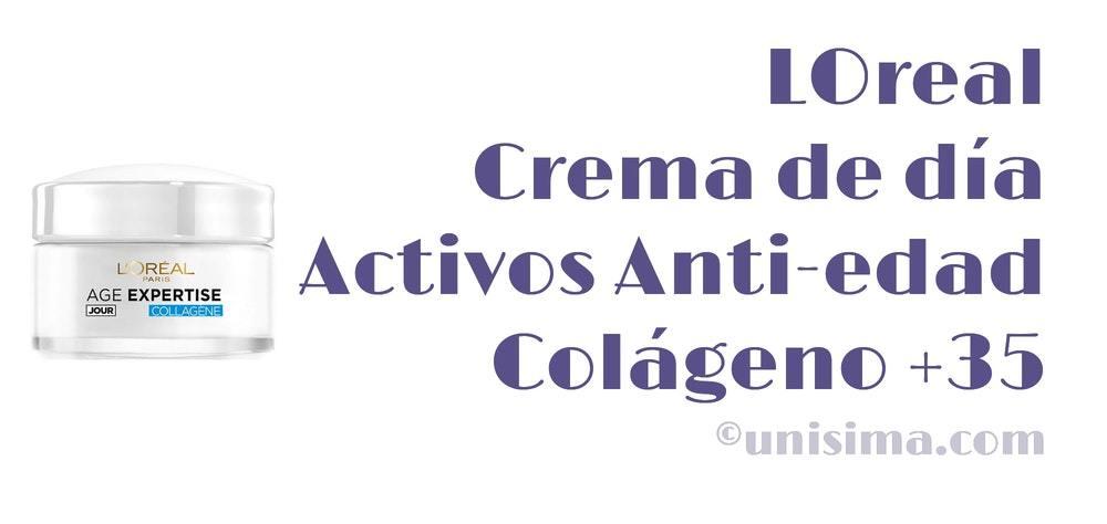 loreal crema colageno