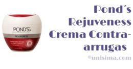 Crema Contra-arrugas Rejuveness Anti-Wrinkle Cream de Pond´s, Análisis y Alternativa