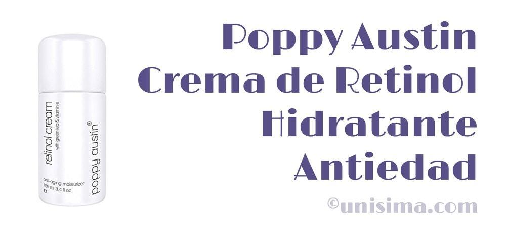poppy austin crema retinol