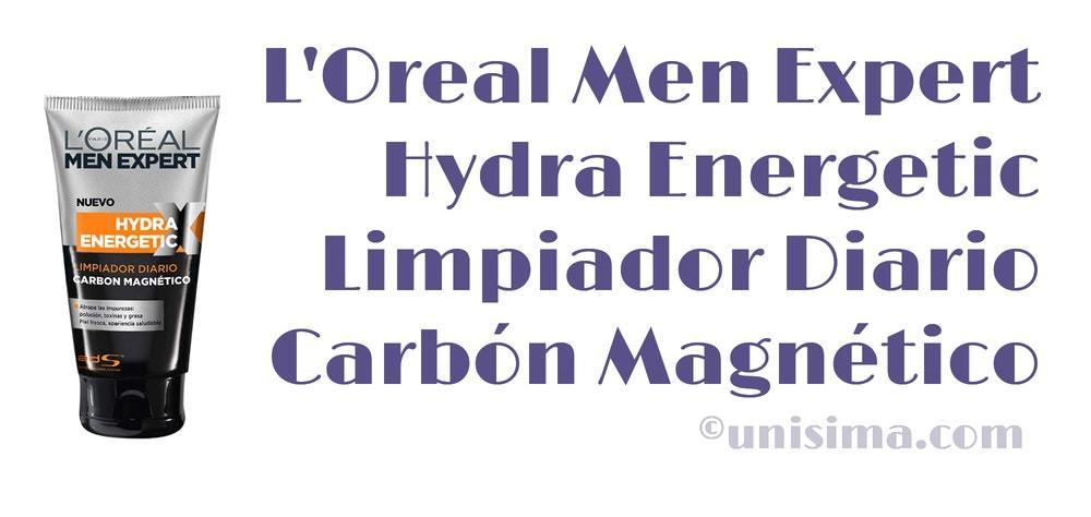 loreal men limpiador carbon