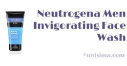 Invigorating Face Wash de Neutrogena Men, Análisis y Alternativa