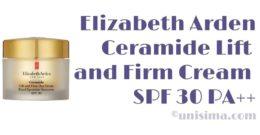 Ceramide Lift and Firm Day Cream SPF 30 PA++ de Elizabeth Arden, Análisis y Alternativa