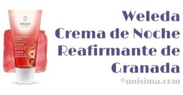 Crema de Noche Reafirmante de Granada de WELEDA, Análisis y Alternativa