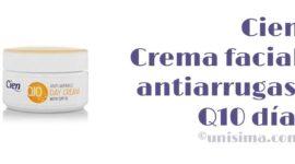 Crema facial antiarrugas Q10 día de Cien, Análisis y Alternativa