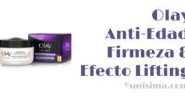 Anti-Edad Firmeza & Efecto Lifting Crema reafirmante de día de Olay, Análisis y Alternativa