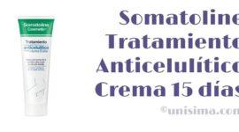 Tratamiento Anticelulítico Crema 15 días de Somatoline Cosmetic, Análisis y Alternativa
