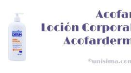Loción Corporal Pieles Atópicas Acofarderm de Acofar, Análisis y Alternativa