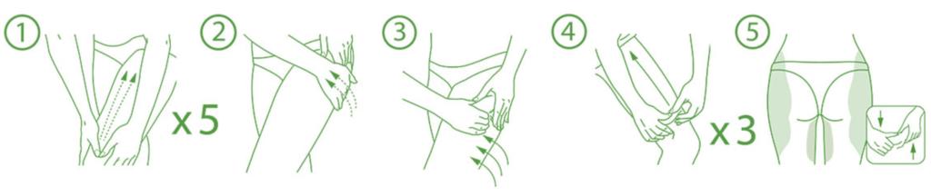 masaje crema anticelulitica