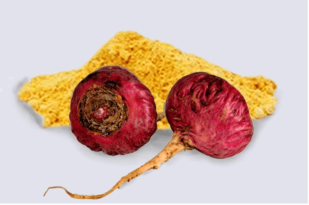 Información nutricional de la maca roja