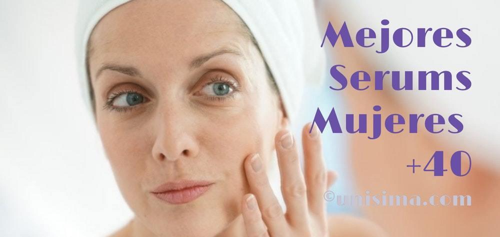 mejores serums mujeres 40