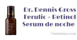 Ferulic + Retinol Serum de noche Antiarrugas de Dr. Dennis Gross, Análisis y Alternativa