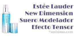New Dimension Suero Modelador + Efecto Tensor de Estée Lauder, Análisis y Alternativa