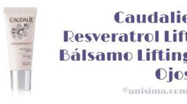 Resveratrol Lift Bálsamo Lifting Ojos de Caudalie, Análisis y Alternativa