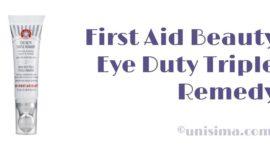 Eye Duty Triple Remedy de First Aid Beauty, Análisis y Alternativa