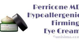 Hypoallergenic Firming Eye Cream de Perricone MD, Análisis y Alternativa