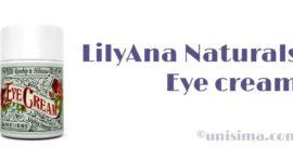 Contorno de ojos de LilyAna Naturals, Análisis y Alternativa