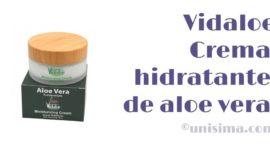 Crema hidratante de aloe vera ecológico de Vidaloe, Análisis y Alternativa