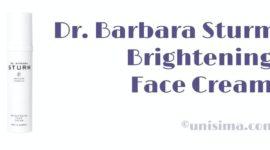 Brightening Face Cream de Dr. Barbara Sturm, Análisis y Alternativa