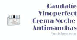 Crema Noche Glicólica Antimanchas Vinoperfect de Caudalíe, Análisis y Alternativa