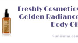 Golden Radiance Body Oil de Freshly Cosmetics, Análisis y Alternativa