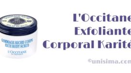 L'Occitane exfoliante corporal Karité, Análisis y Alternativa
