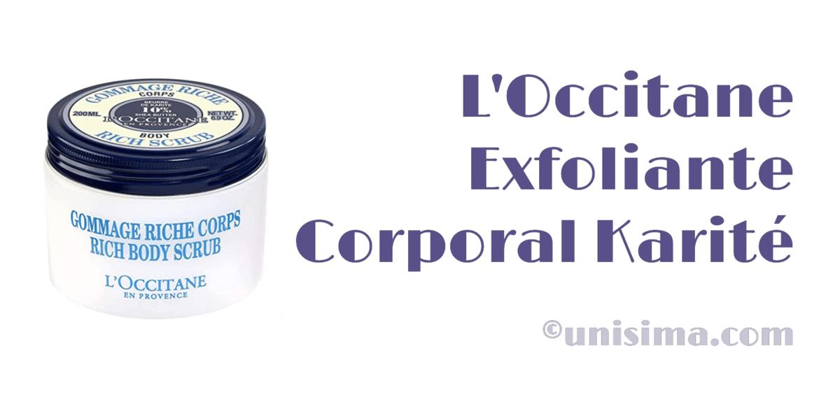exfoliante corporal loccitane