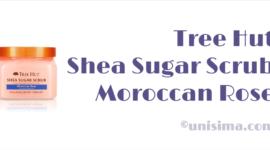 Shea Sugar Scrub Moroccan Rose de Tree Hut, Análisis y Alternativa